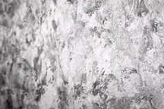Grungy gray background of decorative stucco Royalty Free Stock Images