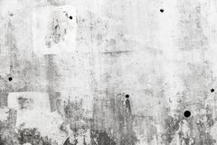 Free Grungy Gray Concrete Wall With White Paint Royalty Free Stock Photography - 126000587