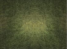 Grungy green fabric. Vintage texture Stock Photography