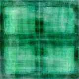 Grungy green squares background Stock Photography