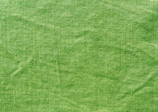 Grungy green textile cloth texture. Royalty Free Stock Photography