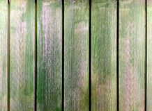 Grungy Green Wooden Planks Background Stock Image