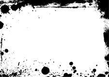 Grungy grenzen Stock Afbeelding