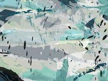 Grungy grijze inkt stemt achtergrond stock illustratie