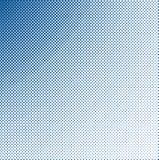 Grungy halftone blauw Stock Fotografie