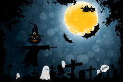 Grungy Halloween Background Stock Photos