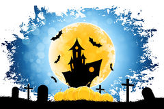 Grungy Halloween Background Stock Image