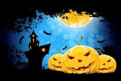 Grungy Halloween-Hintergrund Lizenzfreies Stockfoto