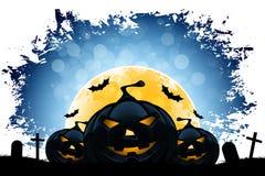Grungy Halloween-Hintergrund Stockbild