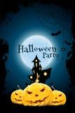 Grungy Halloween przyjęcia tło Fotografia Stock