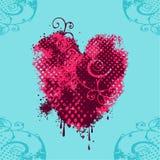 Grungy heart Royalty Free Stock Photo