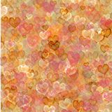 Grungy Hearts background. Beautiful vintage grungy hearts background Stock Photos