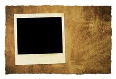 Grungy Hintergrund des sofortigen Filmes Stockbilder