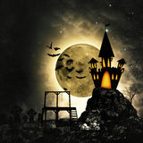 Grungy horror and mystery backgrounds Stock Images