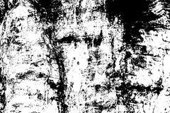 Grungy houten textuur Doorstane hout zwart-witte textuur De ruwe oppervlakte van de boomschors stock illustratie
