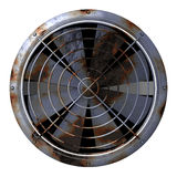 Grungy Industrial Fan Royalty Free Stock Images