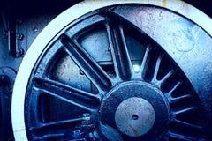 Grungy industrieller Radhintergrund Lizenzfreies Stockfoto