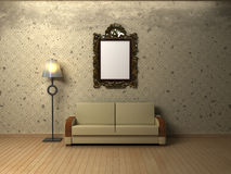 Grungy interior. Royalty Free Stock Photos