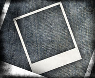 Grungy jeans background Stock Photo