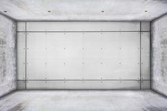 Grungy konkreter Raum Lizenzfreie Stockfotografie