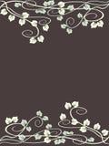 grungy leaf för bakgrundsdruva Royaltyfria Bilder