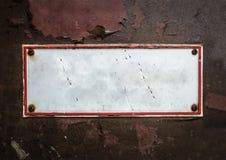 Grungy leeg straatteken Royalty-vrije Stock Fotografie