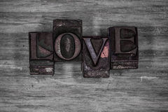 Grungy Love background texture Stock Images