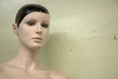Grungy Mannequin Stock Images