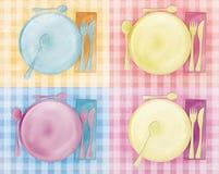 Grungy Menu Card Royalty Free Stock Photo