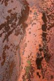 Grungy metal texture. Grungy rusted metal texture background royalty free stock image
