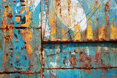 Grungy mixing of painting royalty free stock photo