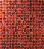 Grungy mosaic wall in red pink orange Royalty Free Stock Photography