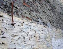 Grungy Muur Stock Fotografie