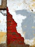 Grungy muur Stock Foto's