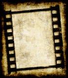 grungy negativ fotoremsa för film Arkivfoto