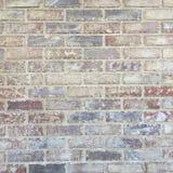 Grungy nieociosana ściana z cegieł tła tekstura Obraz Stock