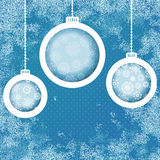 Grungy Nieuwjaar, de achtergrond van Kerstmis. + EPS8 Stock Foto's