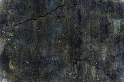Grungy och slät kal betongvägg Fotografering för Bildbyråer