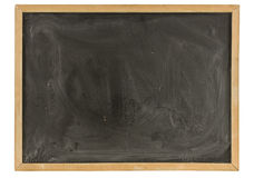Grungy Old Blackboard Stock Photo