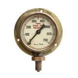 Vintage Pressure Gauge Royalty Free Stock Photo