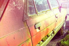 Grungy Old Car Stock Photography