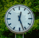 Grungy Old Clock Royalty Free Stock Photography
