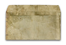Grungy old envelope Stock Images