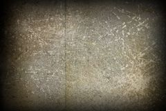 Grungy old metal surface Royalty Free Stock Images