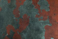 A grungy old painted concrete texture stock photography