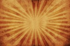 Grungy Old Paper. Background. Sepia-Browny Colors with Grungy Rays. Background Collection Royalty Free Stock Image