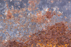 Grungy old rusting metal surface Royalty Free Stock Photo