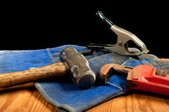 Free Grungy Old Tools Royalty Free Stock Image - 25566096