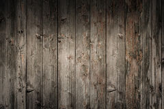 Grungy old wooden panels wall Royalty Free Stock Image