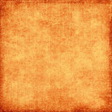 Grungy orange. Grungy bright orange canvas with space for text or picture Royalty Free Stock Image